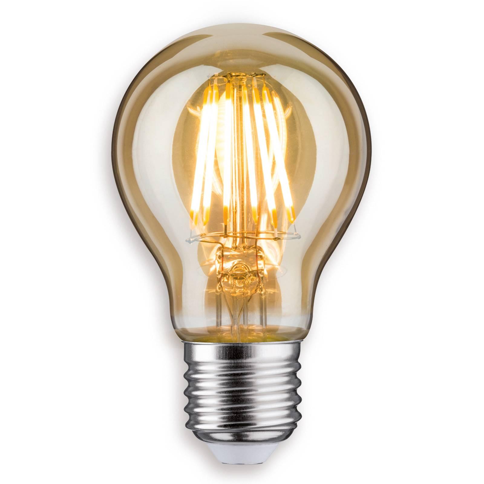 E27 7,5 W 825 LED-hehkulamppu kulta