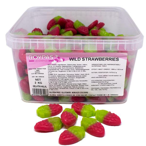 Wild Strawberries (Halal) 2 kg