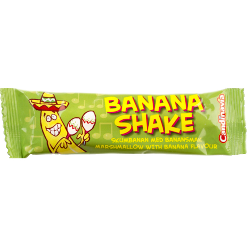 Skumgodis Banan 22g - 49% rabatt