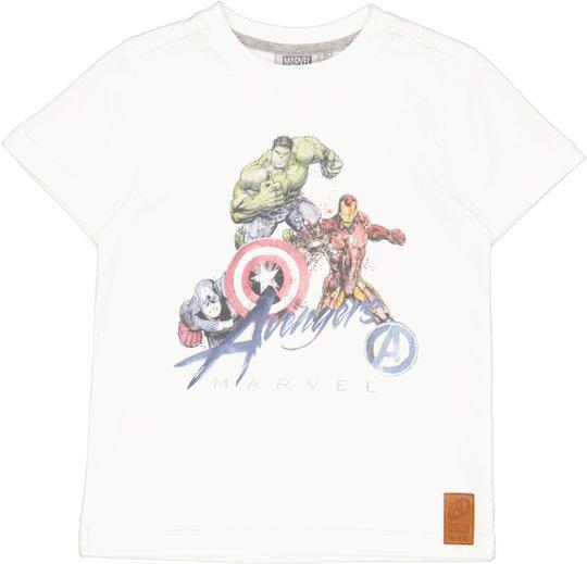 Wheat Avengers T-Shirt, Off White, 104