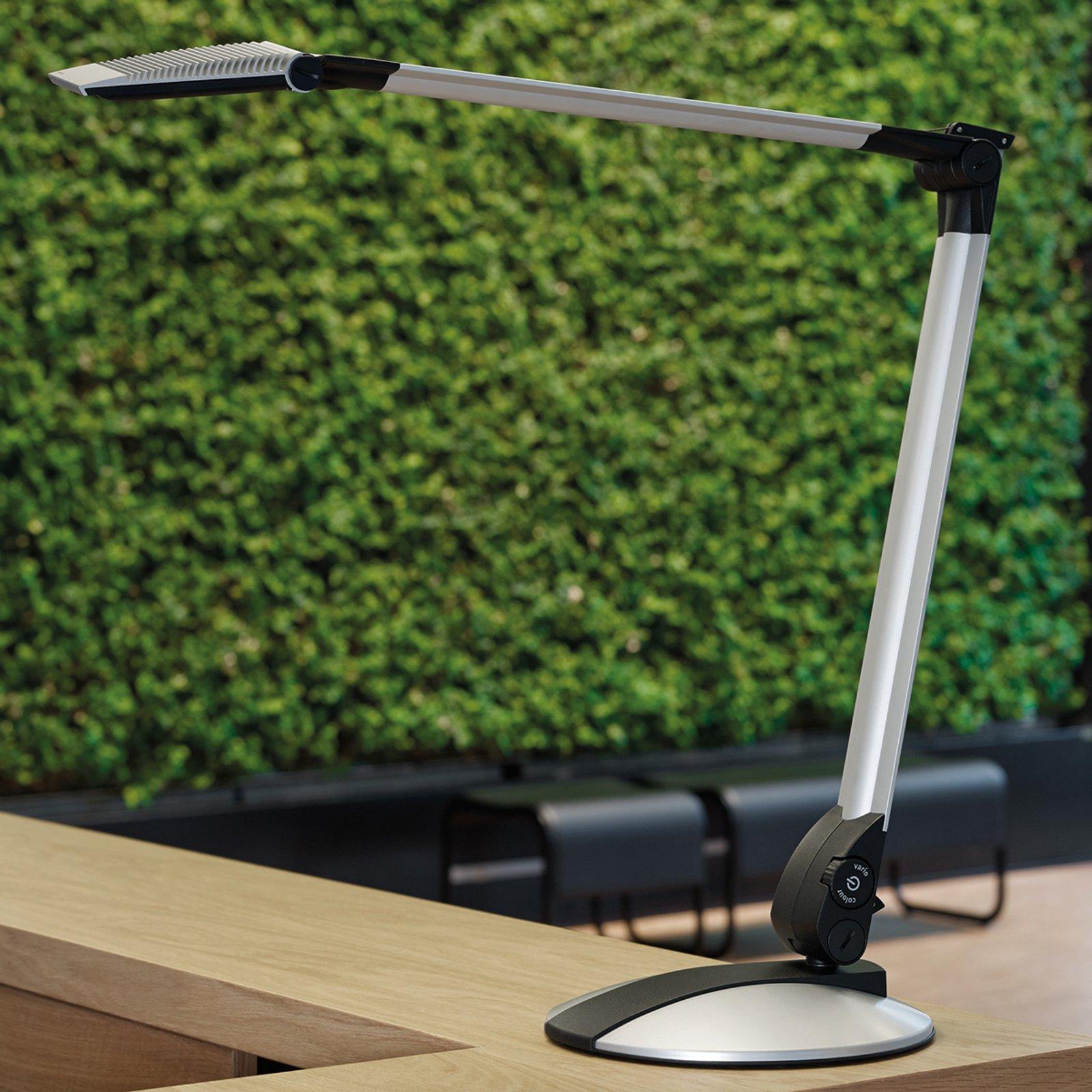 Optimus LED-skrivebordslampe med flat fot