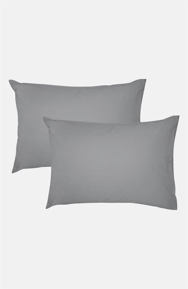 Yksivärinen tyynyliina 65x90 cm 65x90 cm 2 kpl/pakkaus