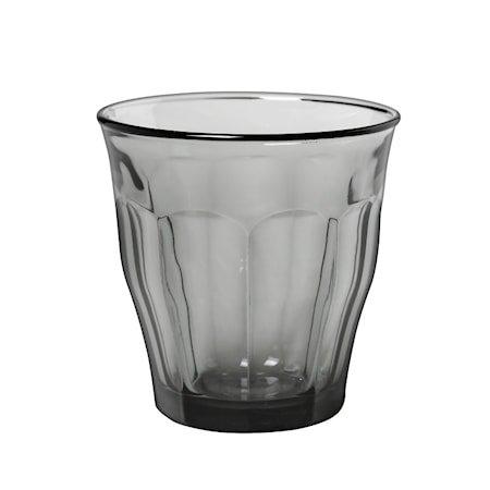 Picardie Drikkeglass Grå 25 cl