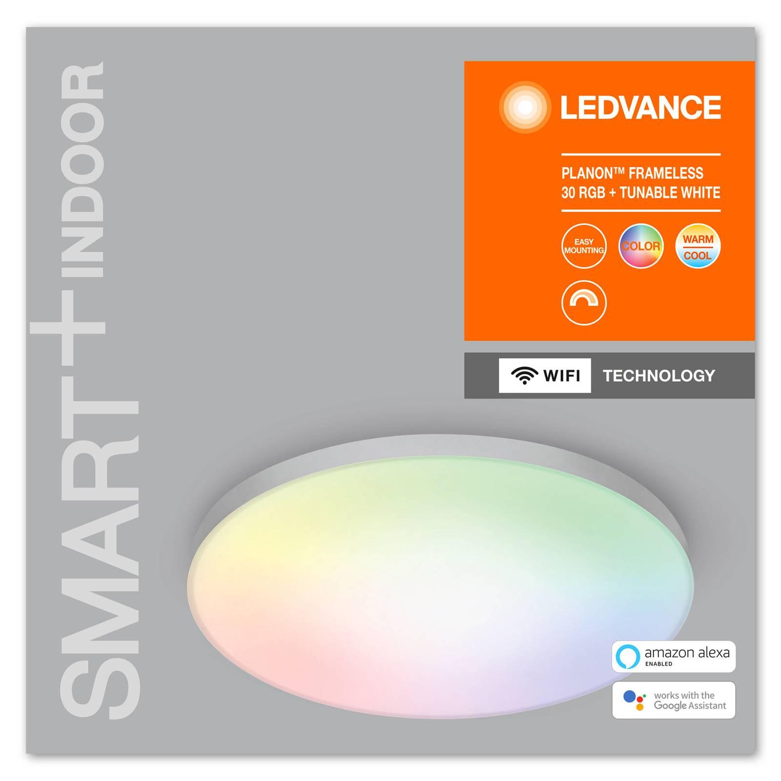 LEDVANCE SMART+WiFi Planon-LED-paneeli RGBW Ø30cm