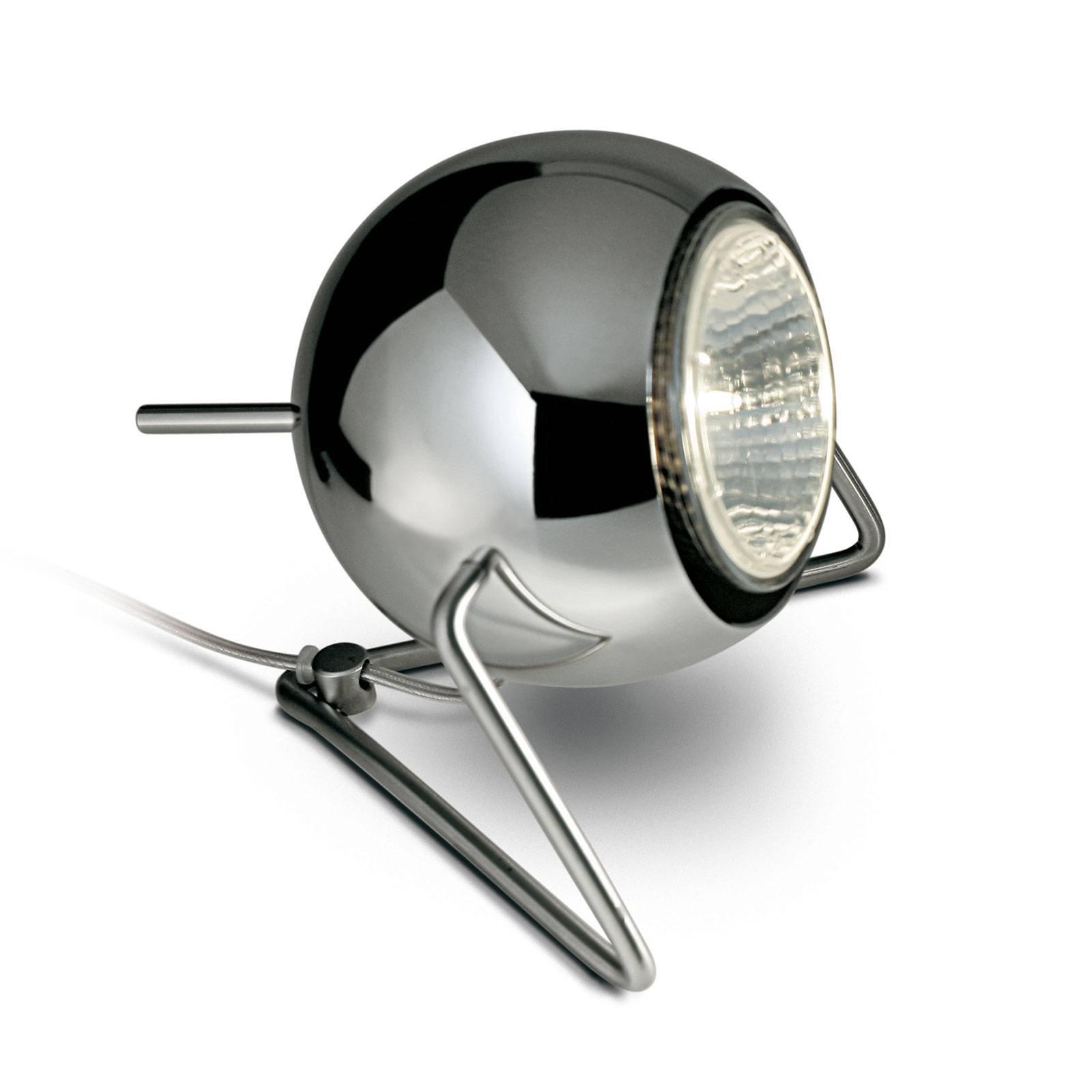 Fabbian Beluga Steel bordlampe Ø 9 cm, krom
