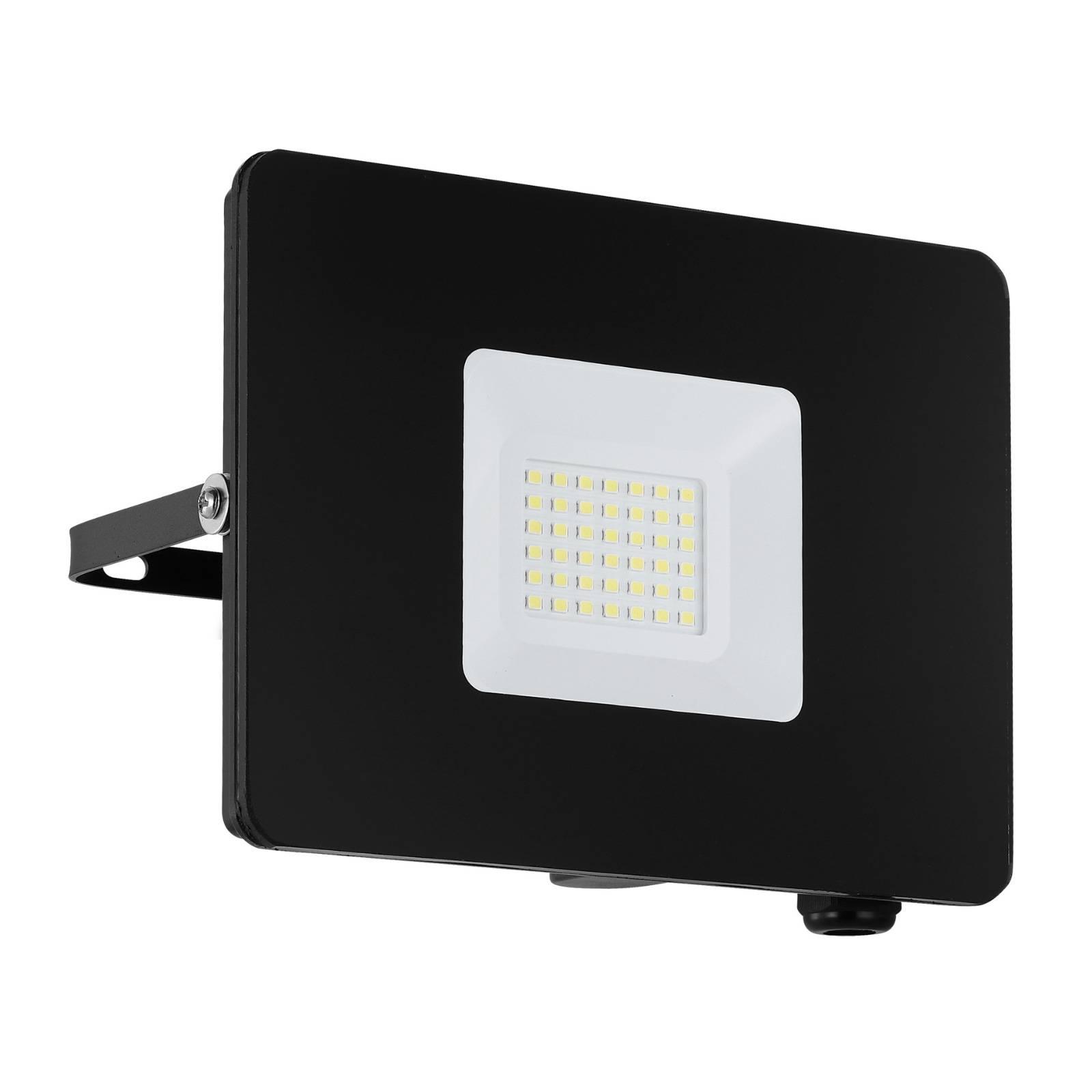 LED-kohdevalaisin ulos Faedo 3, musta, 30 W