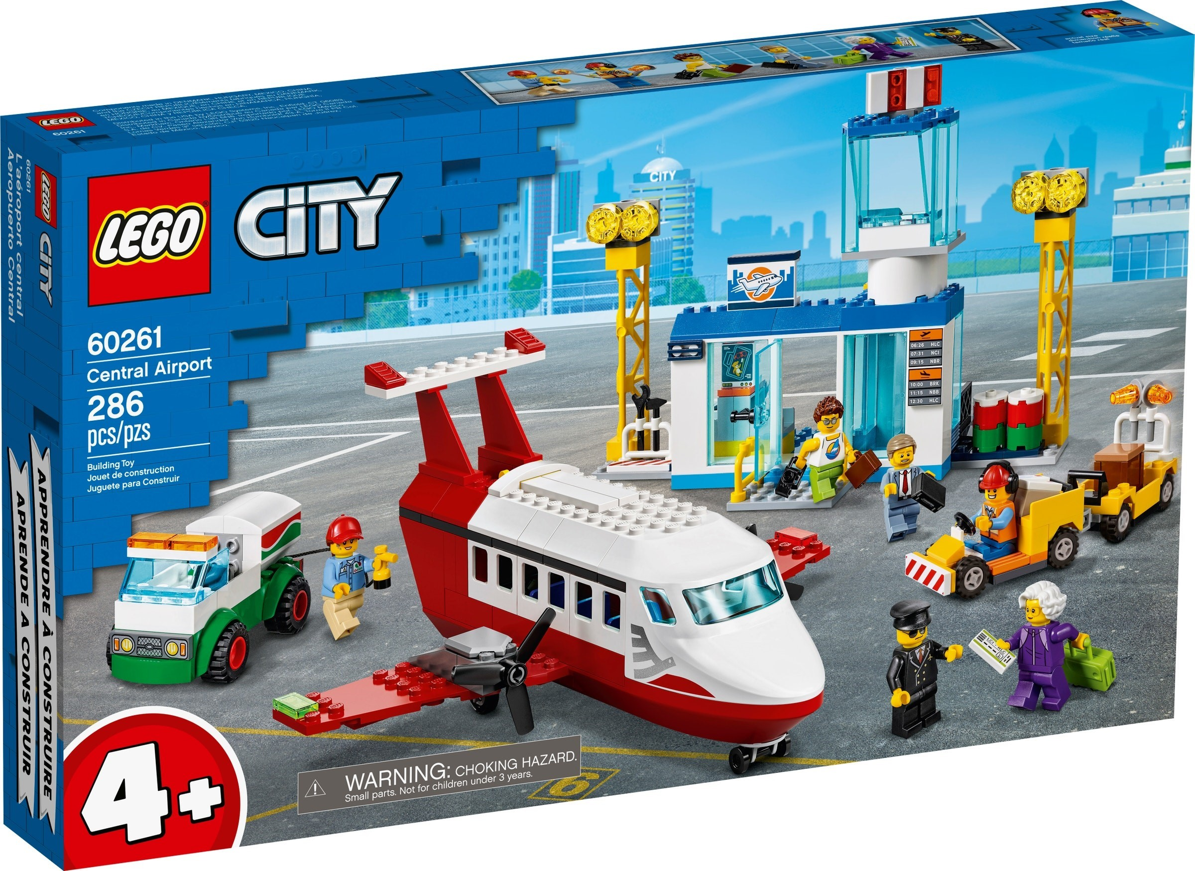 LEGO City - Central Airport (60261)