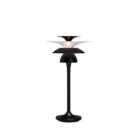 Picasso Bordlampe Mattsvart LED 50 cm