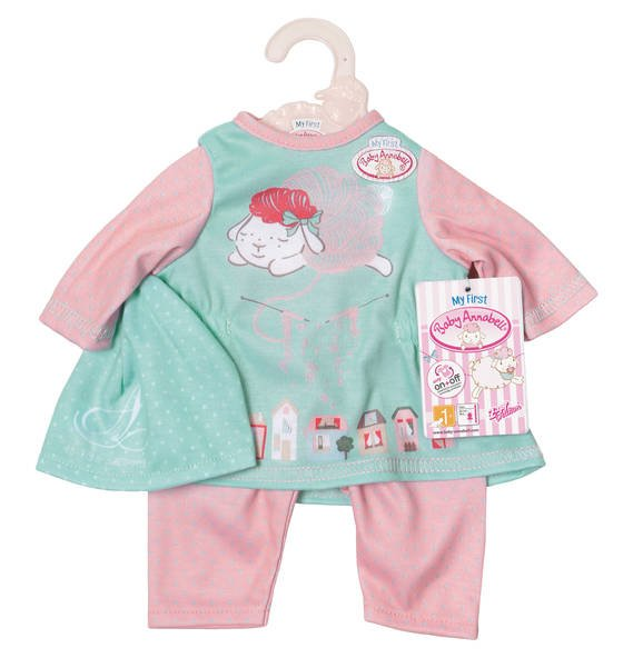 My First Baby Annabell - Rose and mint Baby Outfit (700570)