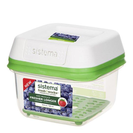 Sistema - Fresh Works Förvaringslåda Small 591 ml
