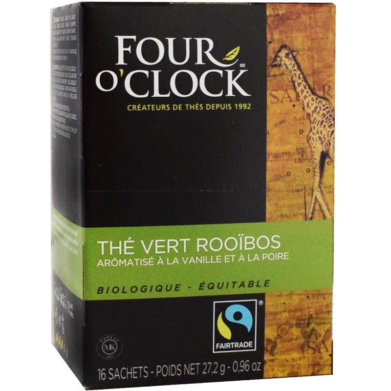Rooibos & Grönt te, Eko Fairtrade 16p - 60% rabatt