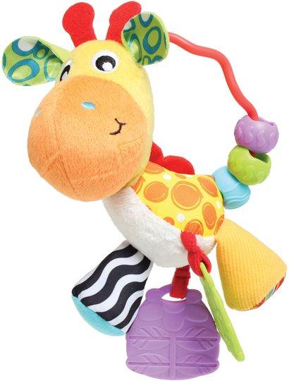 PlayGro Activity Rattle Giraffe Aktivitetsleketøy