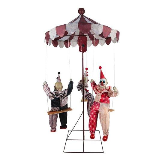 Snurrande Karusell med Clowner Prop