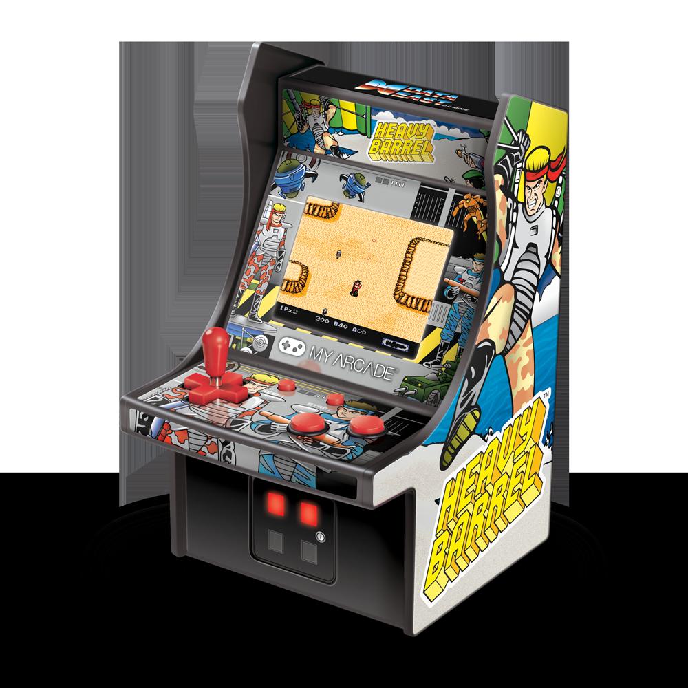 Micro Player Heavy Barrel Retro