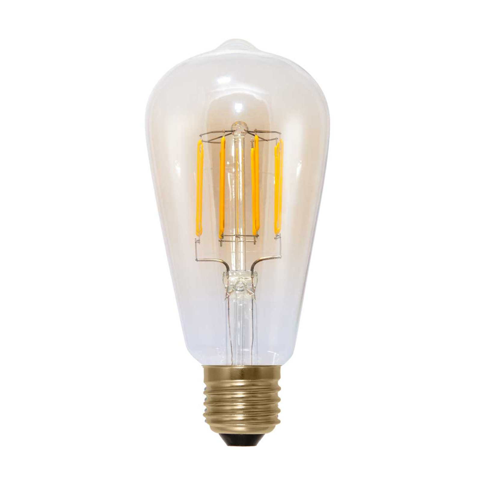 Rustiikkinen LED-lamppu E27 6 W 920 hiililangalla