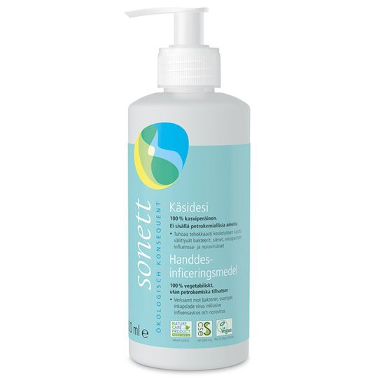 Sonett Ekologisk Handdesinfektion, 300 ml