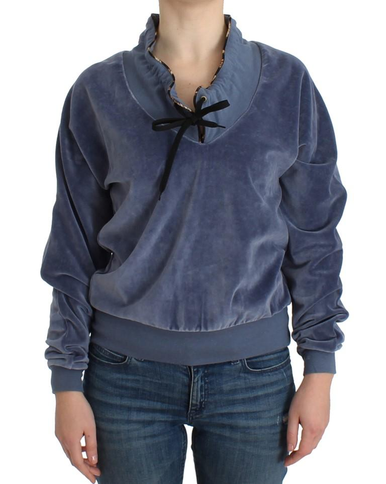 Cavalli Women's Sweater Blue SIG11901 - IT48|XXL