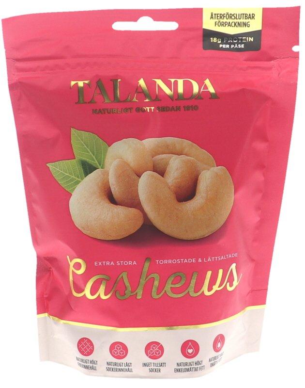 Cashewnötter Torrostade & Saltade - 41% rabatt