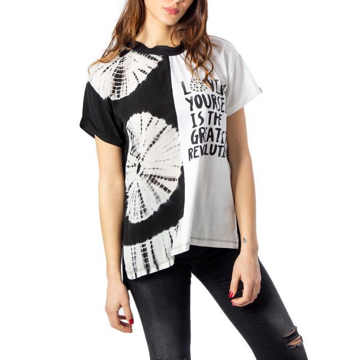 Desigual Women's T-Shirt White 170487 - white S