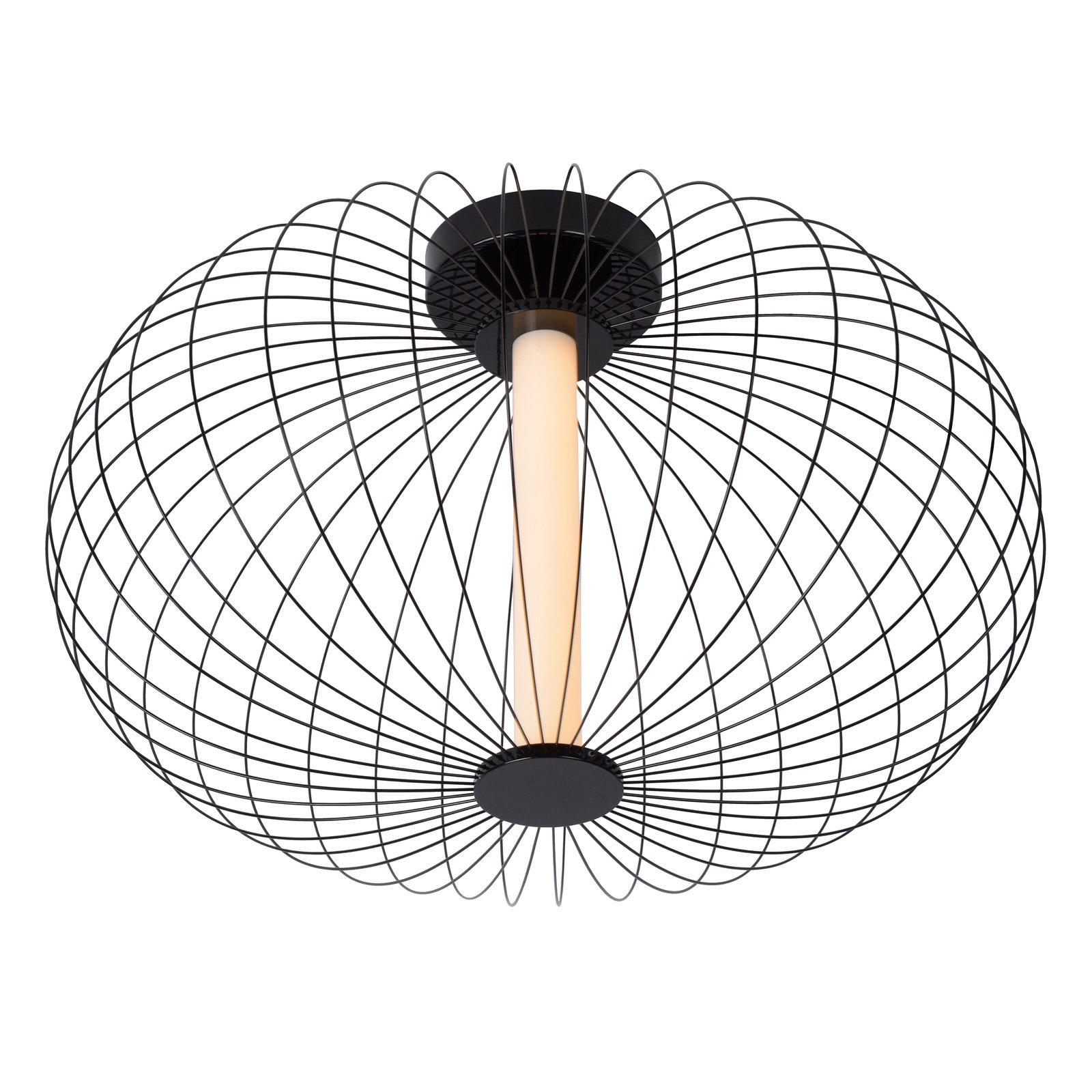 Carbony LED-taklampe svart