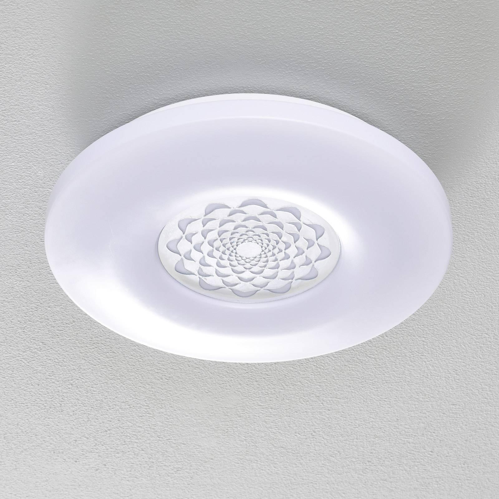 EGLO connect Capasso-C -LED-kattovalaisin kuvioitu