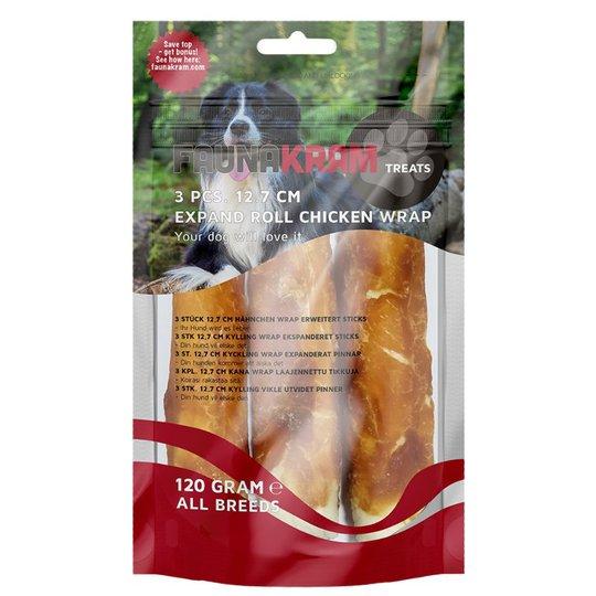 Hundgodis Chicken Wrap 3-pack - 16% rabatt