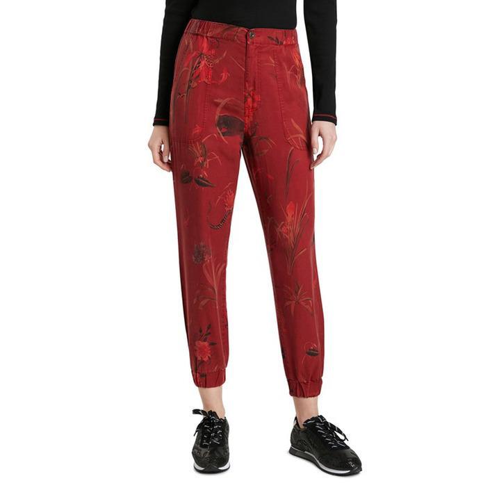 Desigual - Desigual Women Trousers - red XS