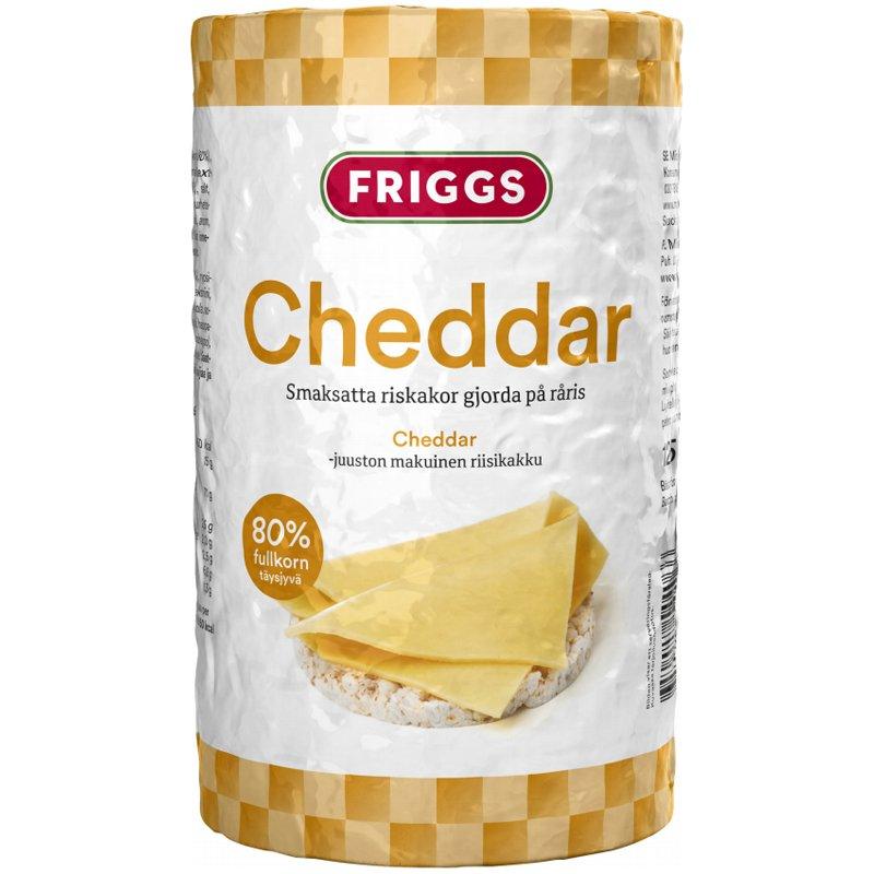 Riisikakut Cheddar - 48% alennus