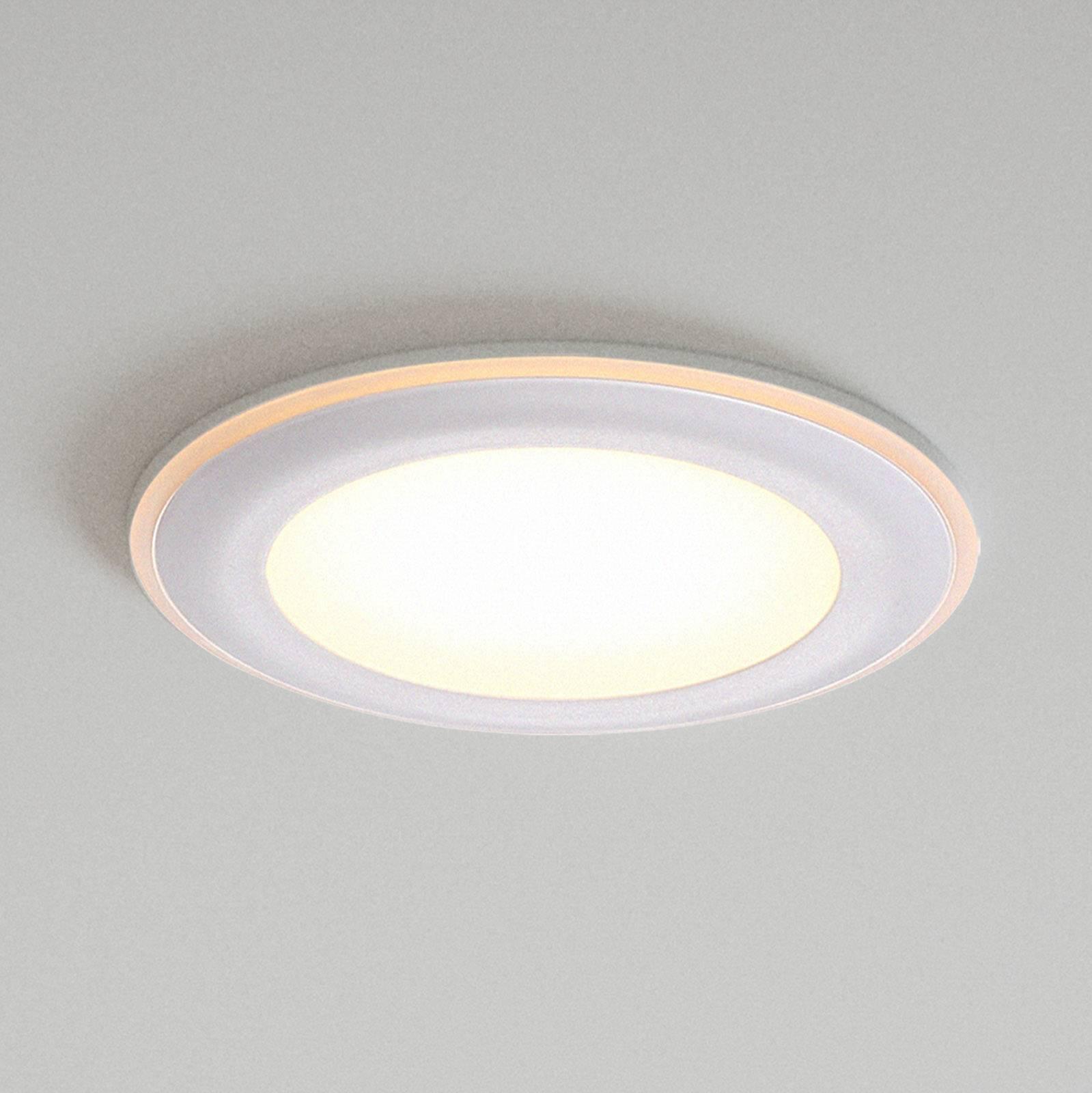 LED-kattouppovalaisin Elkton, Ø 8 cm