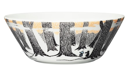 Mumin skål 15 cm Trogen sitt ursprung