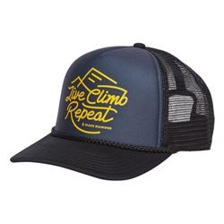 Black Diamond Flat Bill Trucker Hat