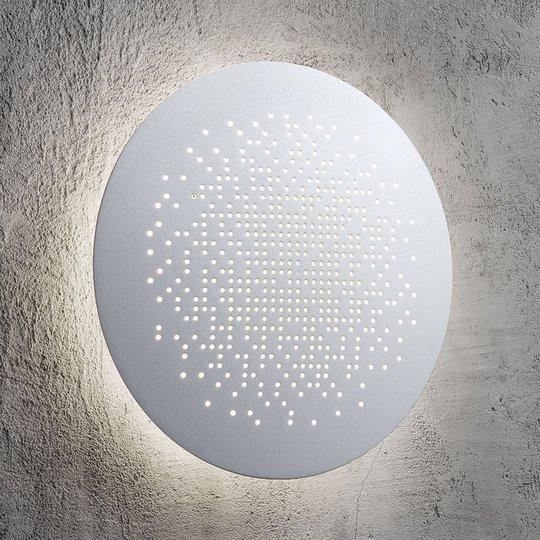 Pyöreä LED-seinävalaisin Hunt Ø 19 cm