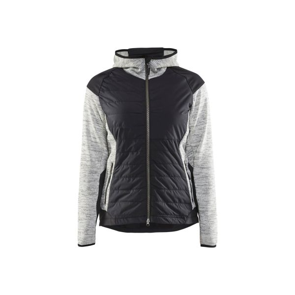 Blåkläder 593121179099M Hybridjacka gråmelerad/svart Stl XL
