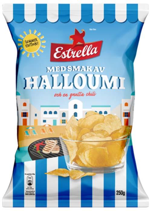 Estrella Halloumi med chili 175g