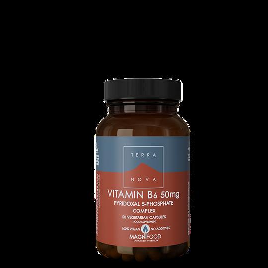 Vitamin B6 (P5-P) 50 mg Complex, 50 kaps