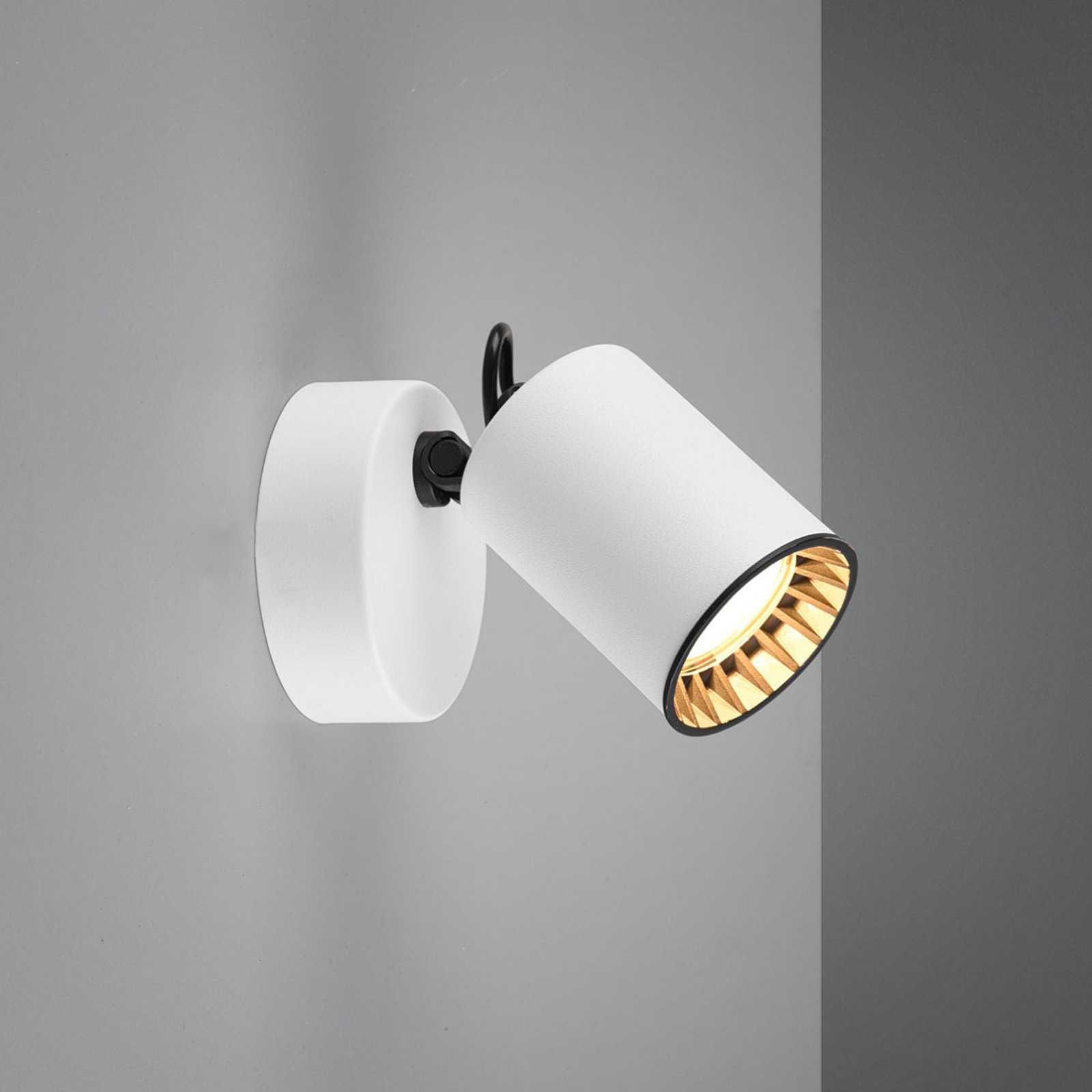 Vegglampe Pago, 1 lyskilde, hvit