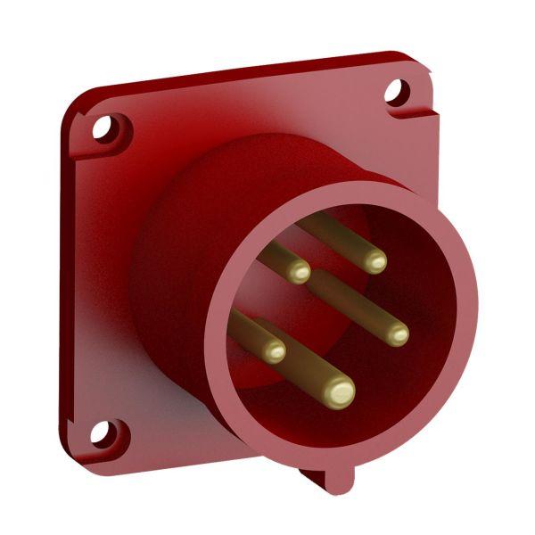 ABB 2CMA102331R1000 Paneelin sisääntulo pikaliitettävä, tärinänkestävä Suora, 5-napainen, 16 A, 60x60 mm