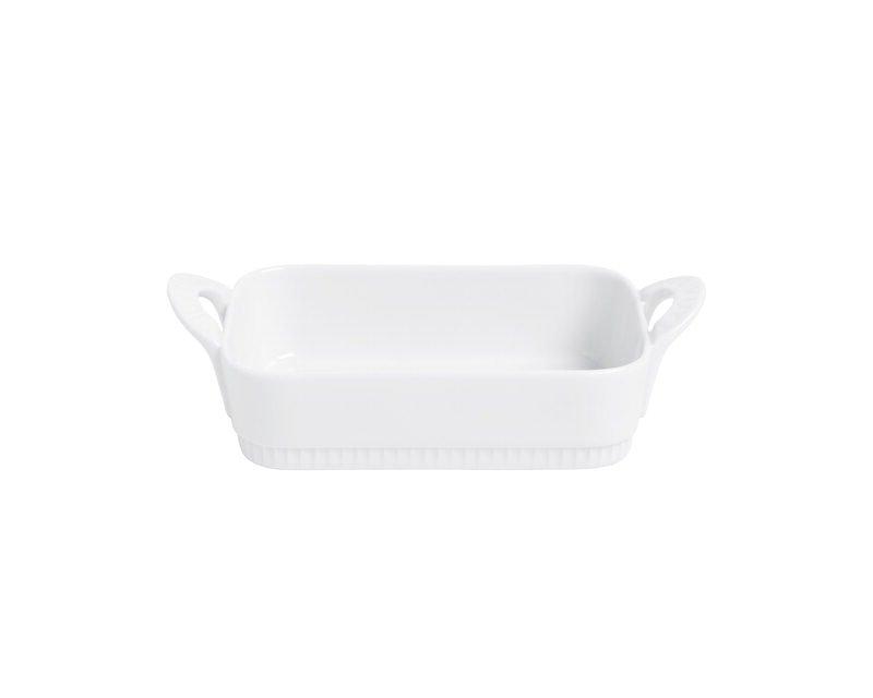 Pillivuyt - Toulouse Dish Rectangular 16 cm - White (221716)