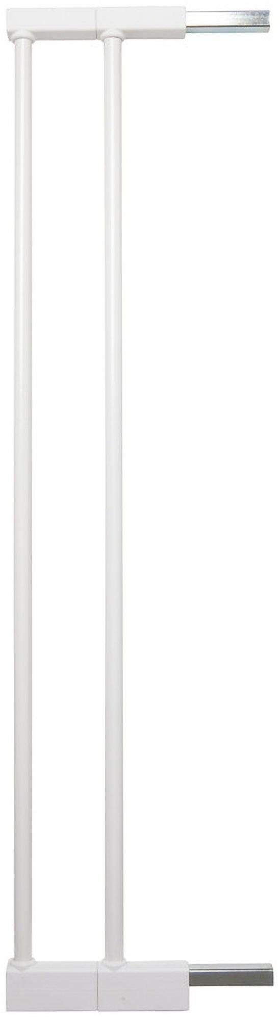 BabyDan Extend-A-Gate Turvaportin Jatkopalat 2 x 7cm, Valkoinen