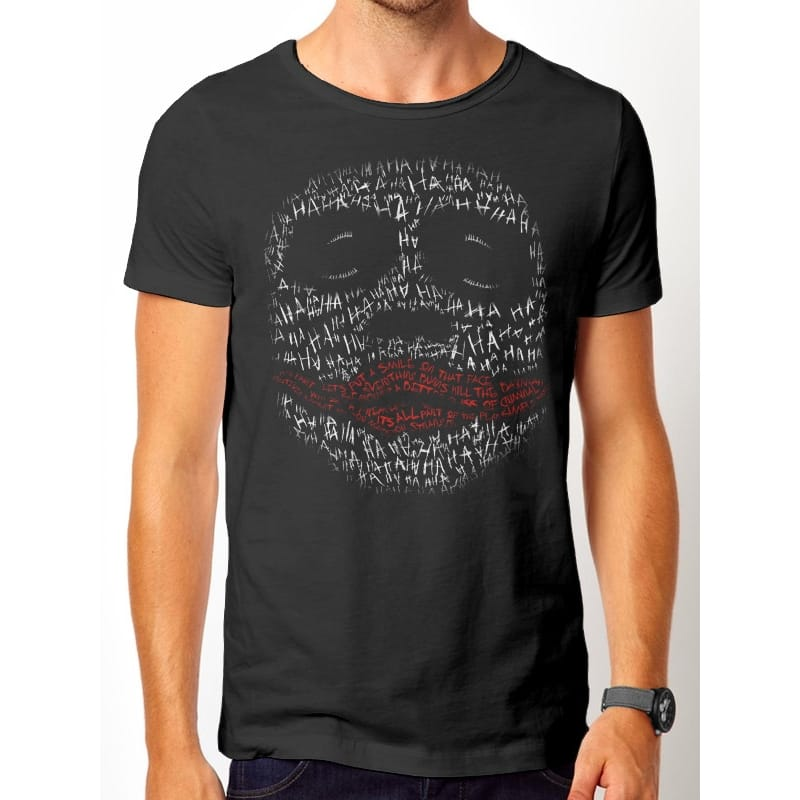 Batman Joker Ha Ha T-Shirt, Medium