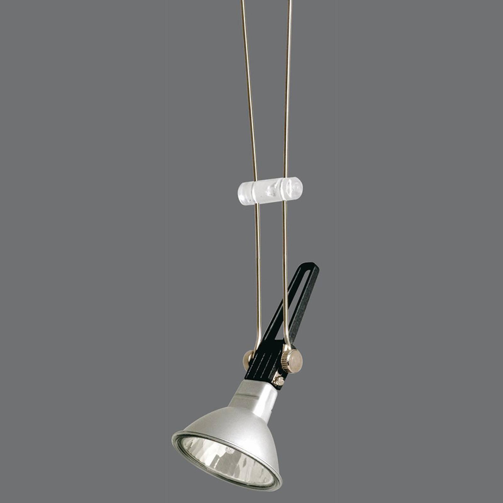 Paulmann Comet -lamppu vaijerijärjestelmään, kromi