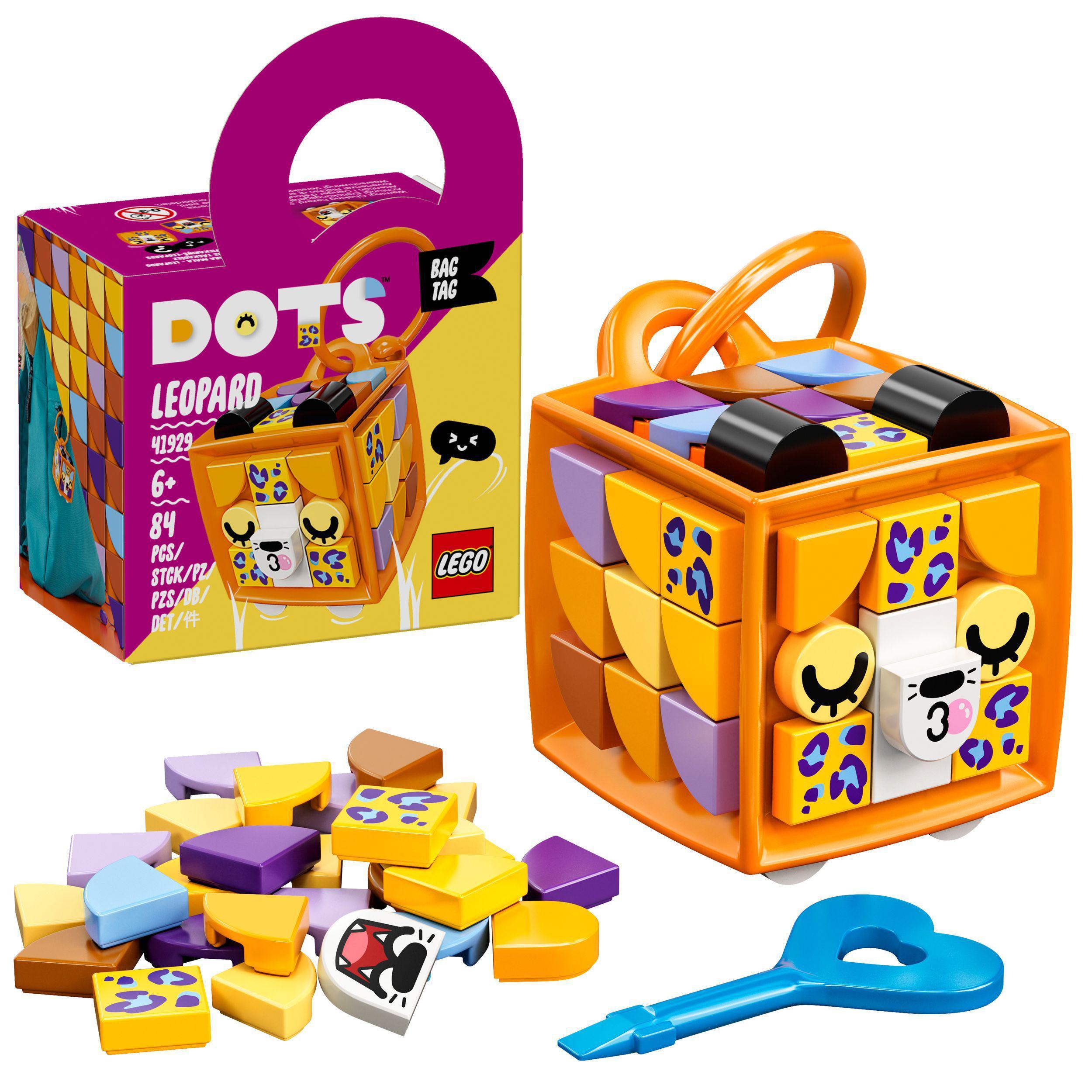 LEGO DOTS - Bag Tag Leopard (41929)