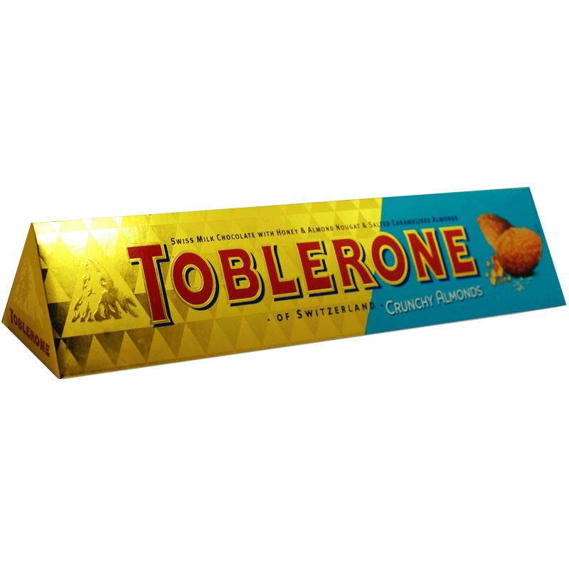 Toblerone Mandel - 61% rabatt