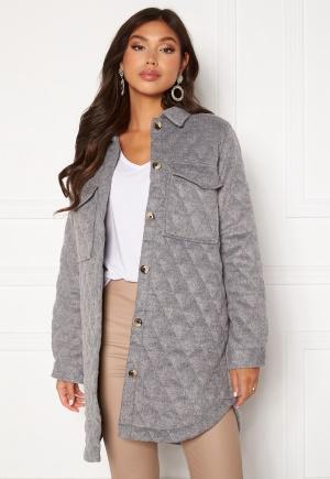 Object Collectors Item Vera owen long quilt jacket Medium Grey Melange 40