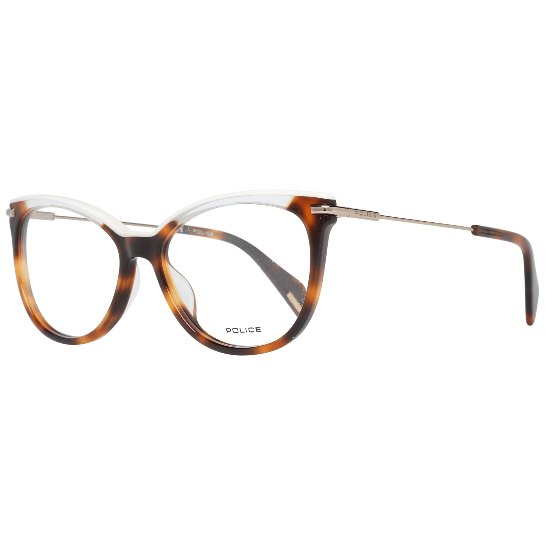 Police Women's Optical Frames Eyewear Brown VPL505E5309AJ