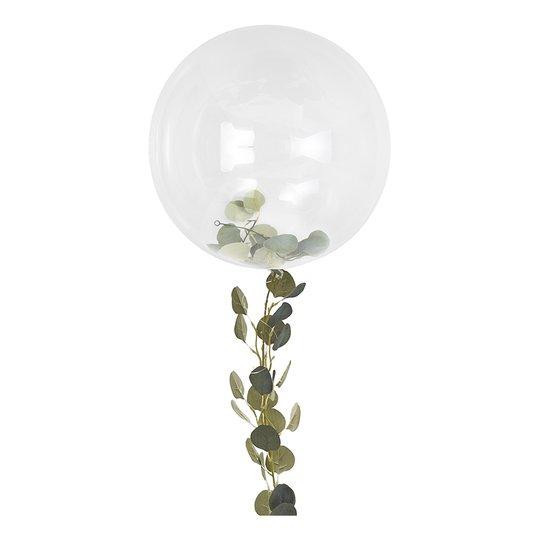 Ballonger Orbz Transparent/Grön - 1-pack
