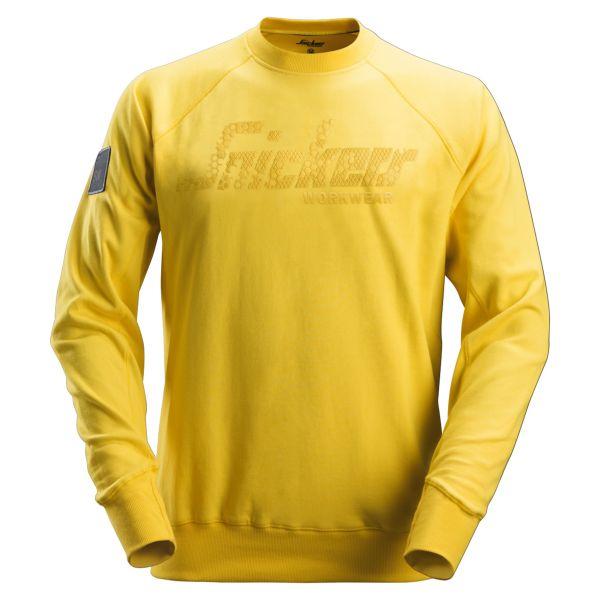 Snickers 2882 Collegepaita keltainen XS