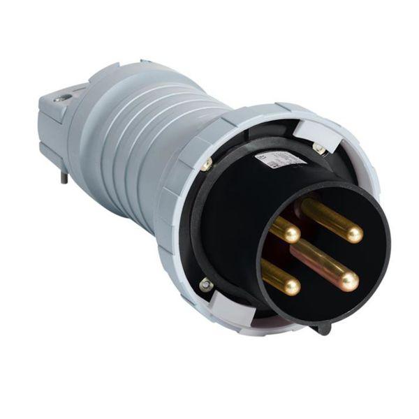 ABB 2CMA166818R1000 Pistotulppa IP67, 4-napainen, 125 A Musta