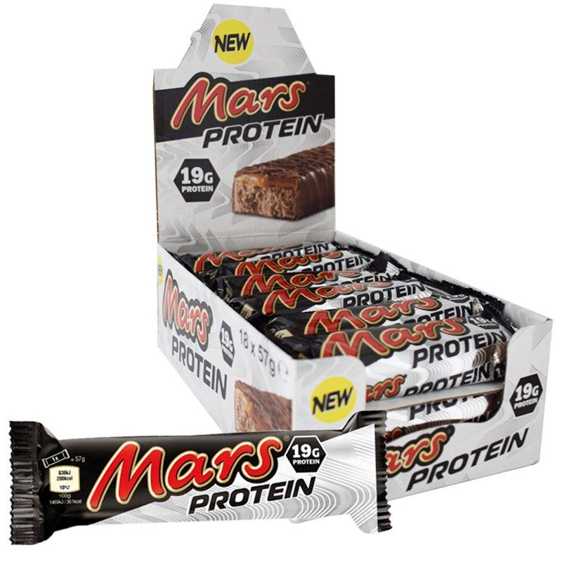 Mars Proteiinipatukat 18kpl - 43% alennus