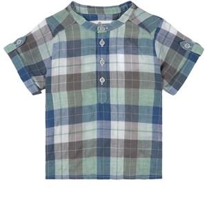 Bonpoint Checkered Skjorta Blå 6 mån